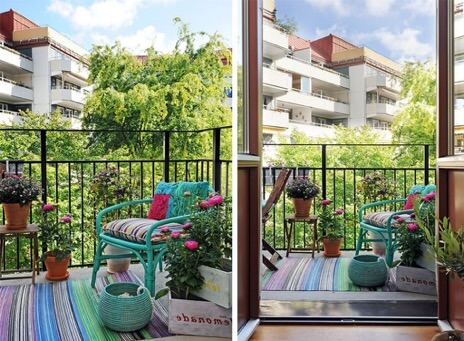 ways to make the most of your balcony