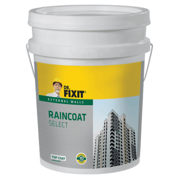 Dr Fixit Raincoat Select External Wall Waterproofing Product India